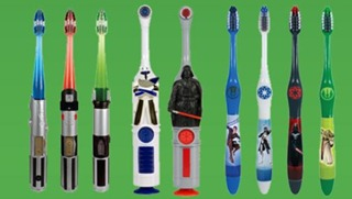 Star Wars Toothbrushes
